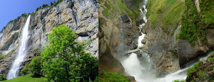 Водопады: Труммельбах, Рейхенбахский