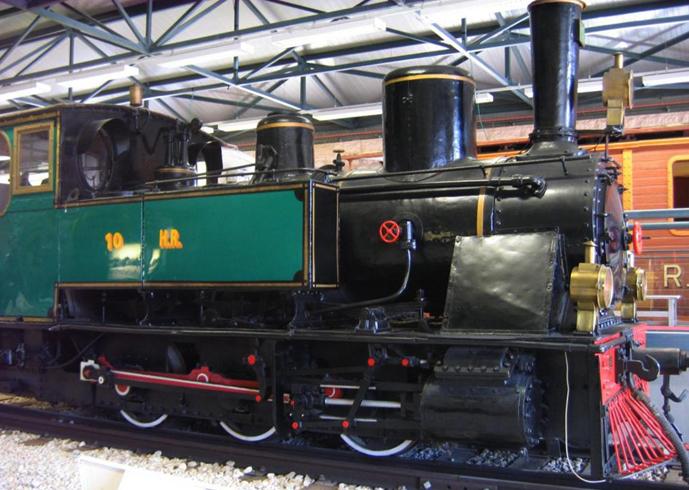 Экспонат музея железных дорог