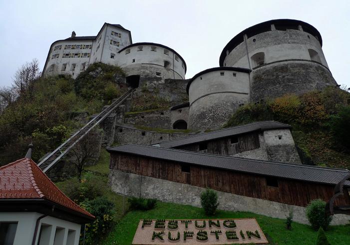 Крепость Куфштайн