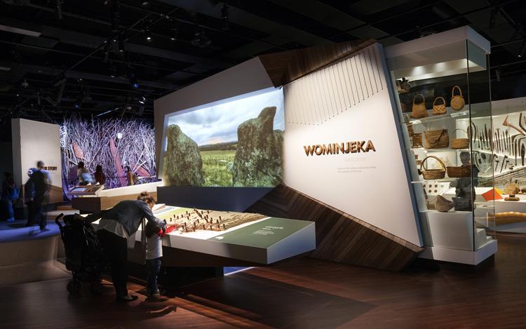 Внутри музея Мельбурна