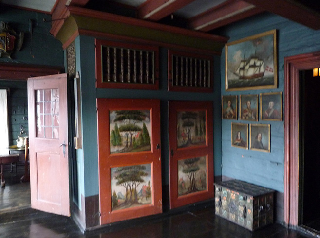 Внутри Ганзейского музея