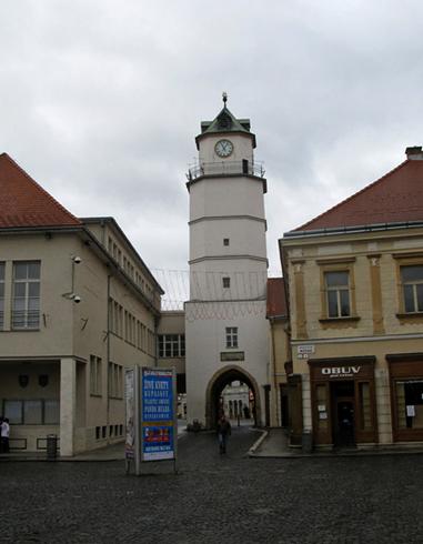 Городская башня и ее ворота