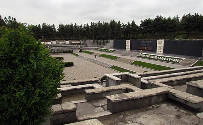 Парк победы в Душанбе