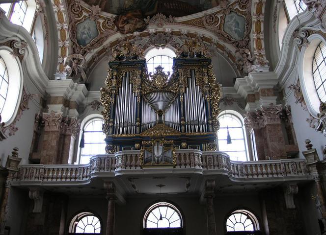 Внутри собора Святого Иаковы
