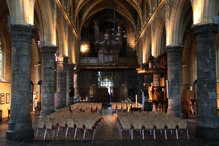 Внутри церкви Святого Иоанна