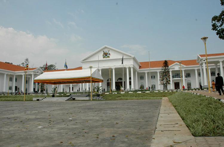 Президентский дворец в Энтеббе