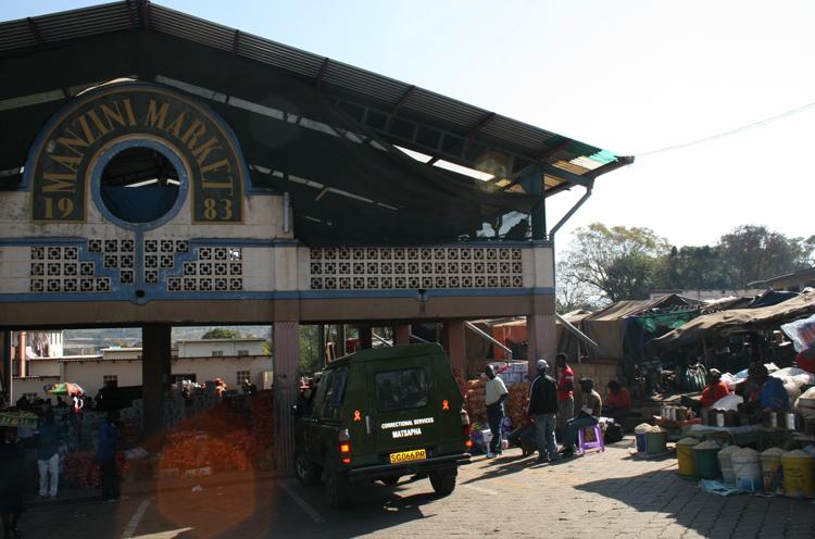 Рынок Манзини