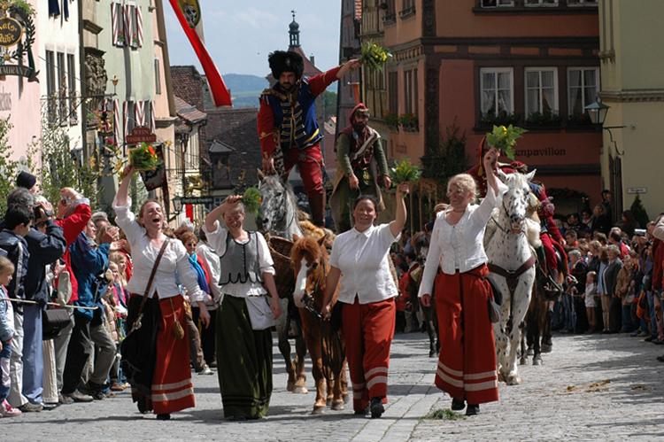Исторический фестиваль «Meistertrunk»