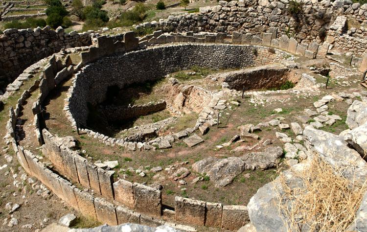 Первый круг королевских гробниц – могильный круг А