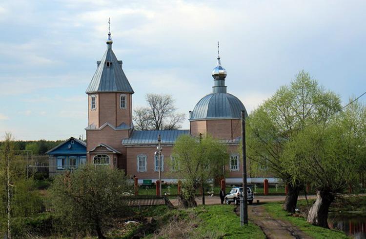 Деревянная церковь в Мухтолове