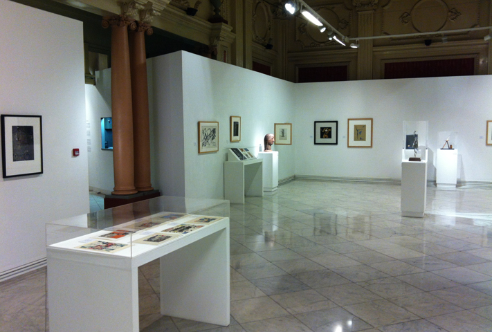 Внутри музея современного искусства Мореры
