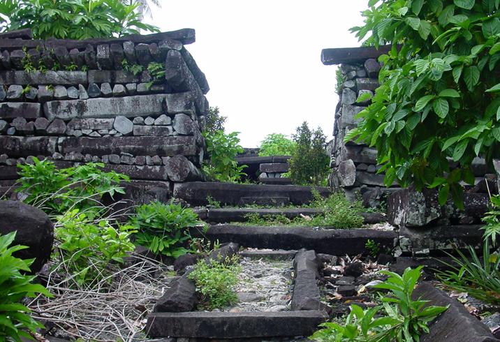 Руины «Нан-Мадол»