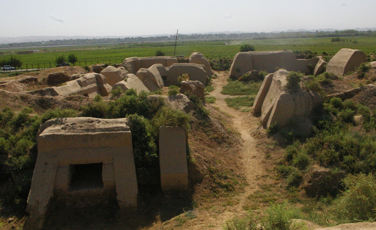 Монастырь Аджина-тепа
