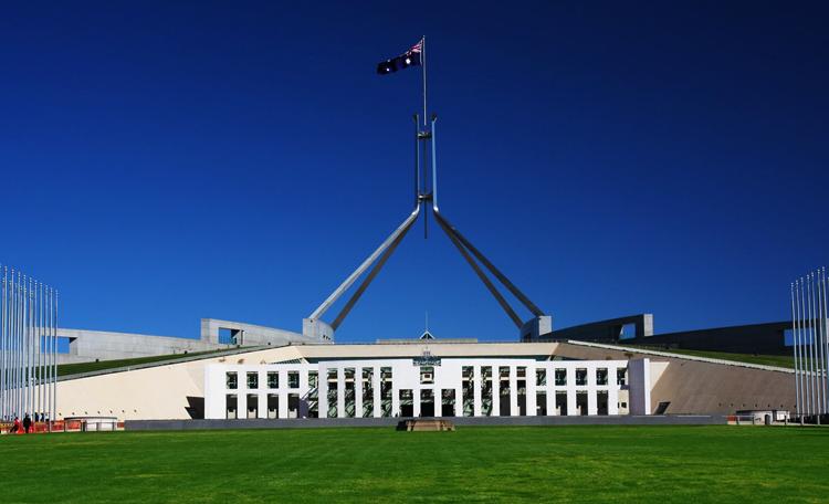 Здание австралийского парламента