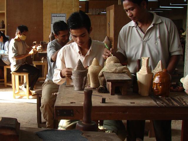 Школа ремесленников Ангкора