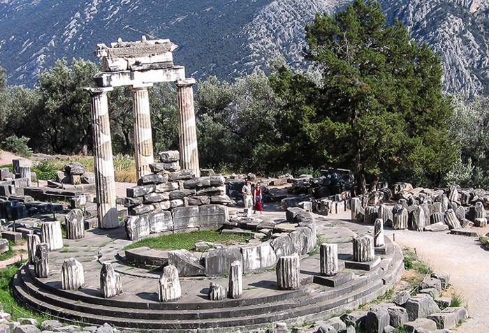 Святилище Афины Пронои