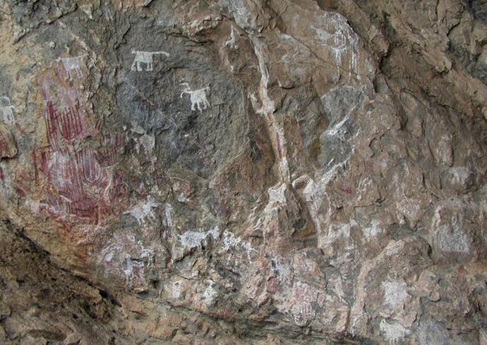 Изображение на скалах в Чонгони