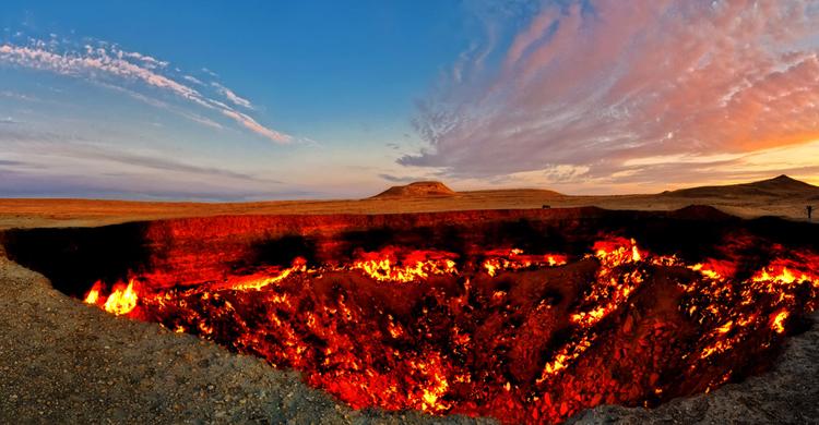 Газовый кратер «Врата Ада»