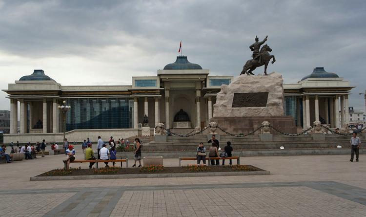 "Площадь ""Сухэ-Батор"""