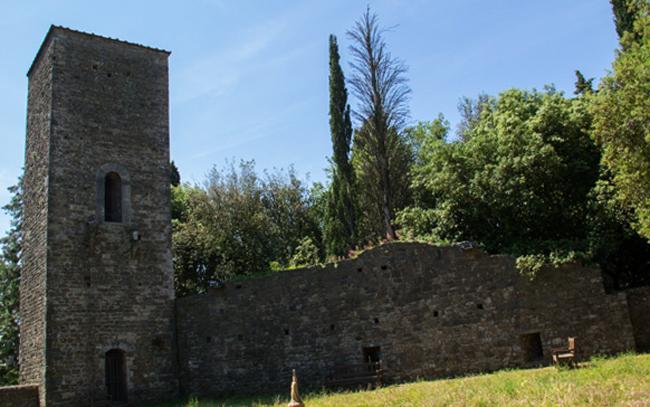 Средневековая крепость XIII века