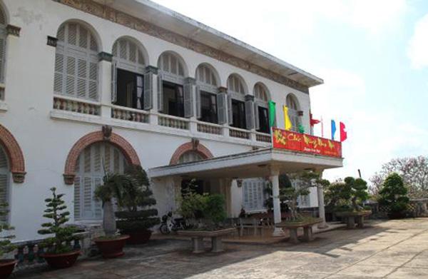 Белый дворец в Вунгтау
