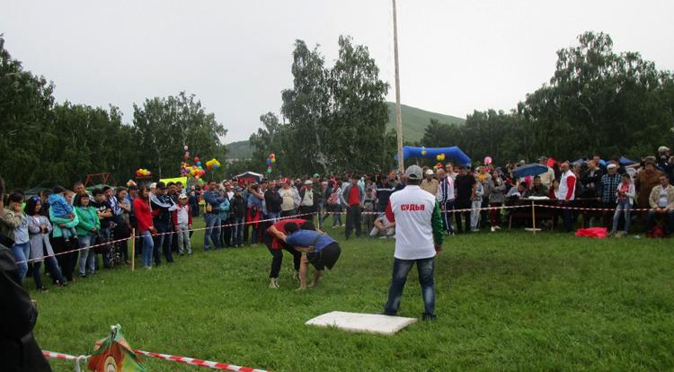 Башкирская национальная борьба Куреш