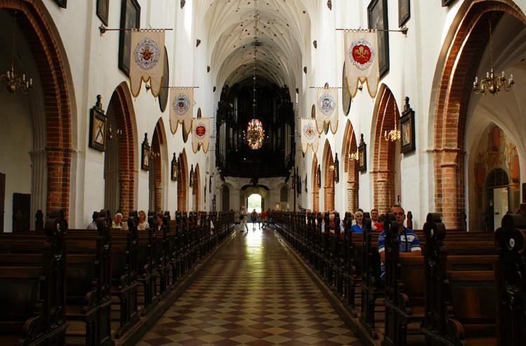Внутри кафедрального собора
