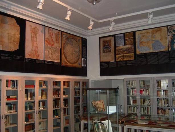 Внутри дома музея Боккаччо