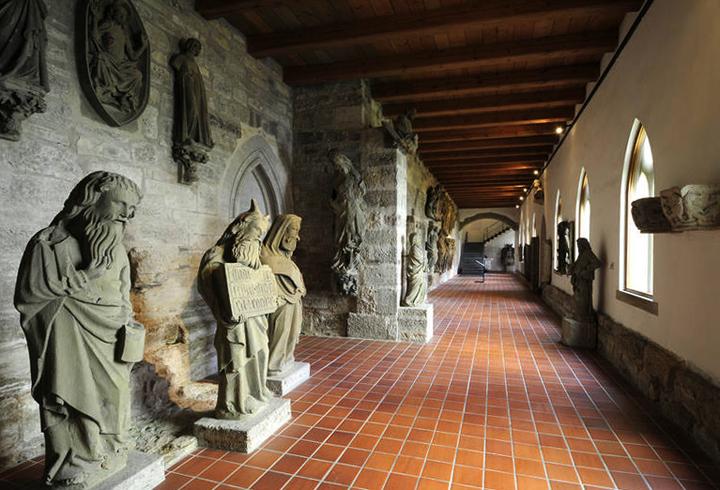 Внутри музея имперского города