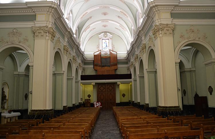 Внутри главного собора