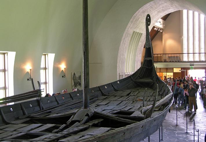 Музей кораблей викинго