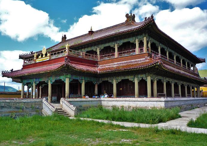 Буддийский монастырь Амарбаясгалант