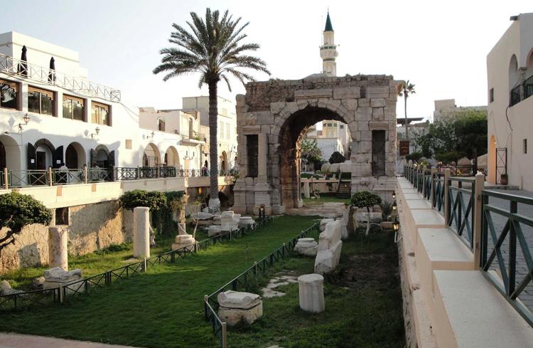 Триумфальная арка в честь Марка Аврелия