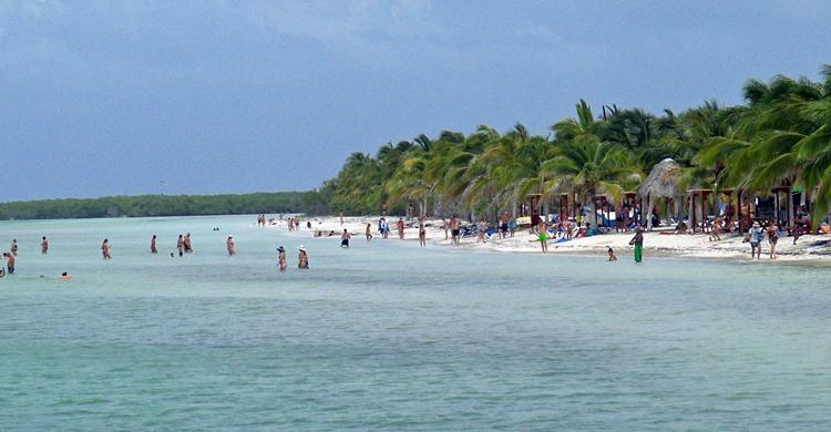 Остров Кайо Бланко