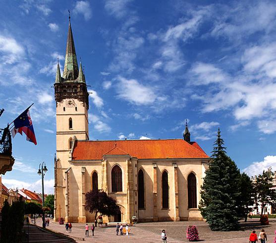Готическая церковь св. Николаса