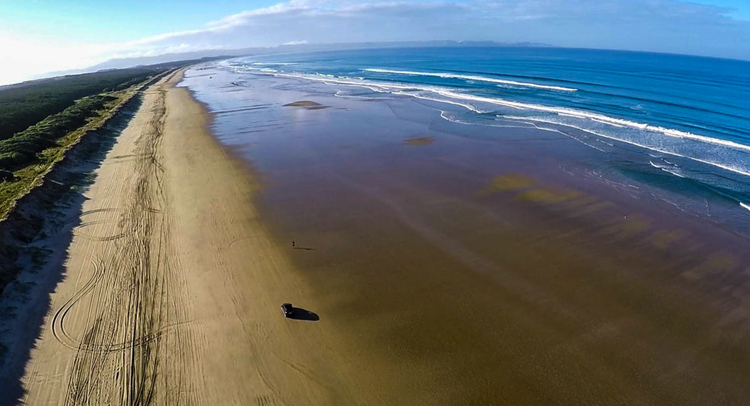 Пляж Найнти Майл