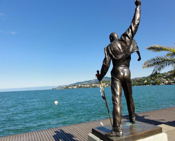Статуя Фредди Меркури