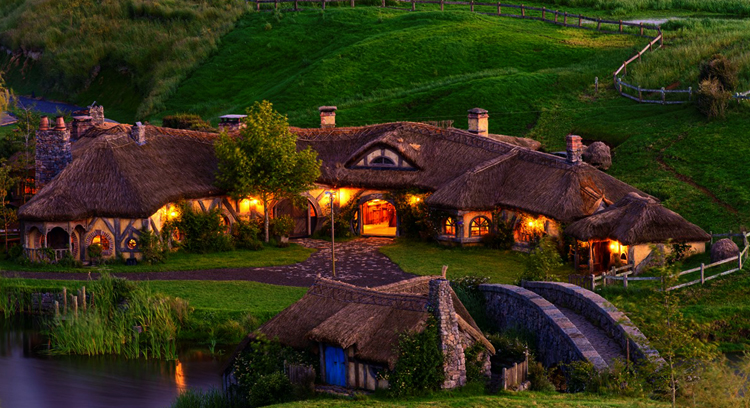 Деревня Хоббитон