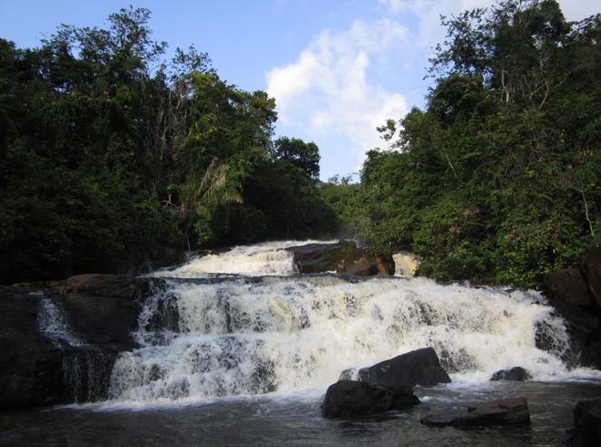 Водопады Кпа-Таве