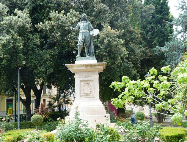 Памятник Хосе Рибера