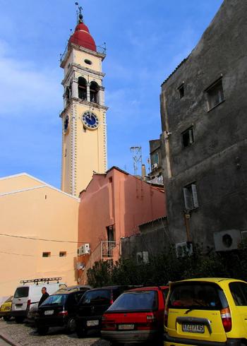 Церковь святого Спиридона, Корфу