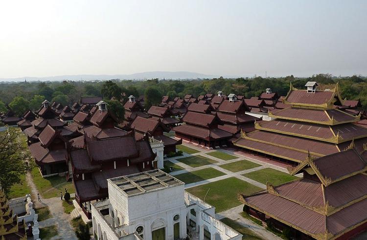 Королевский дворец Мандалай