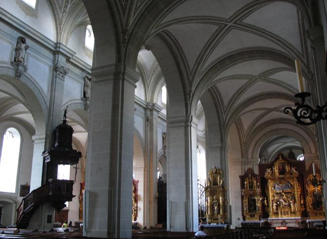 В церкови святого Леодегара