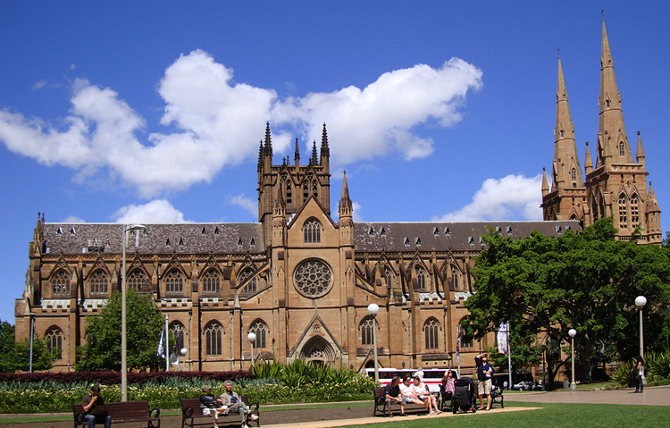 Сиднейский собор Пресвятой девы Марии