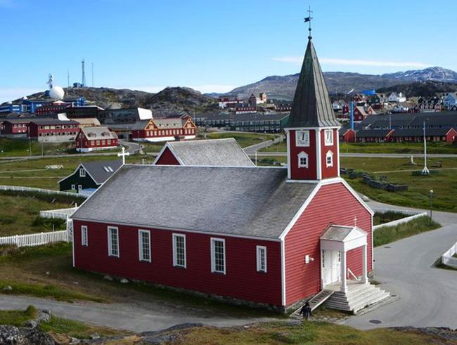 Кафедральный собор в Нууке