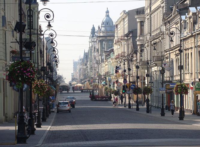Улица Пётрковская