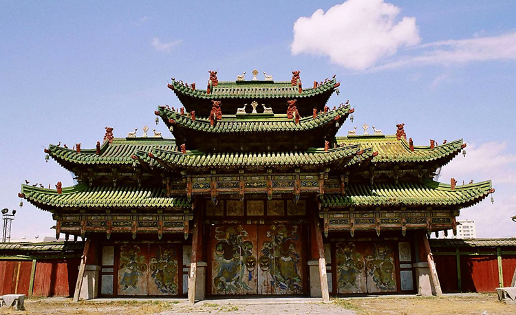 Зимний дворец Богдо-гэгэна