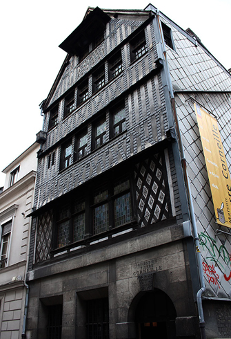 Дом отца драматургии Пьера Корнеля