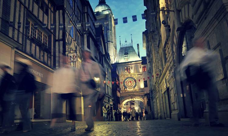 Улица больших часов