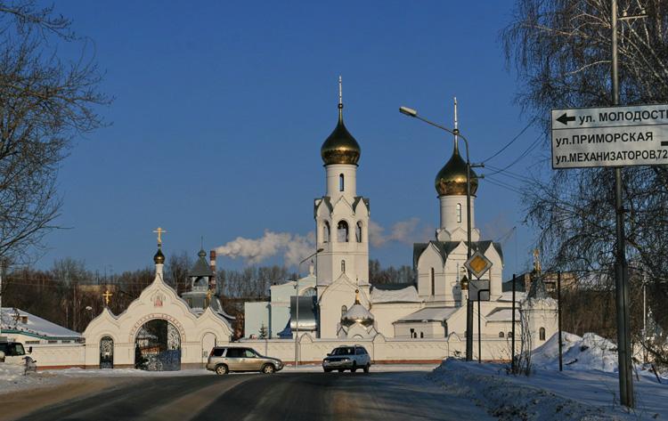 Мужской монастырь Новомучеников Российских